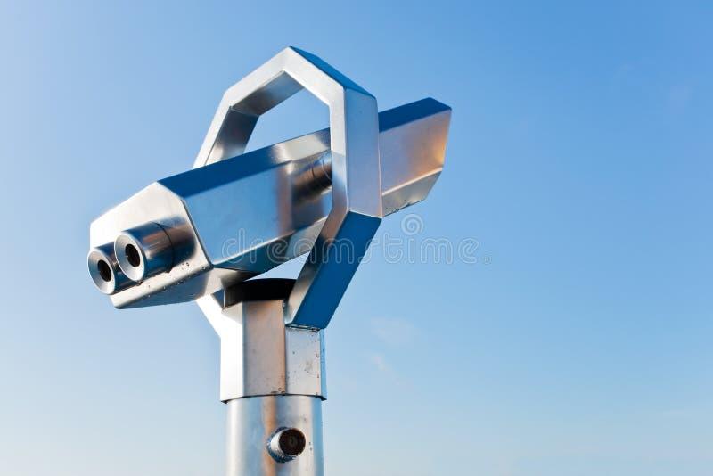Download Terrestrial telescope stock photo. Image of blue, distance - 21599752