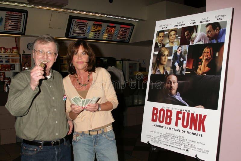 Terri Mann na premier de Los Angeles de ?do funk Bob?. Teatros do por do sol 5 de Laemmle, Los Angeles, CA 02-27-09 foto de stock