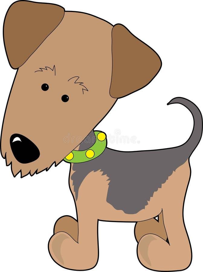 Terrier di Airedale illustrazione vettoriale
