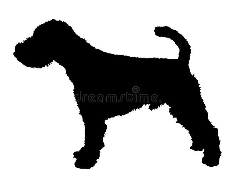 terrier welsh иллюстрация вектора