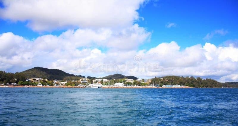 terrigal sikt för Australien hav royaltyfri bild