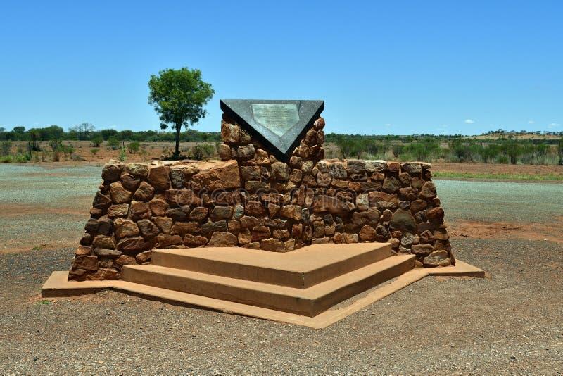 Território de Australia_Northern, memorial imagem de stock