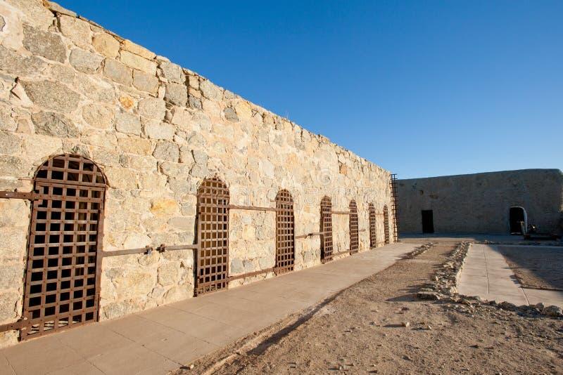 Territoriale de gevangeniscellen van Yuma royalty-vrije stock afbeelding