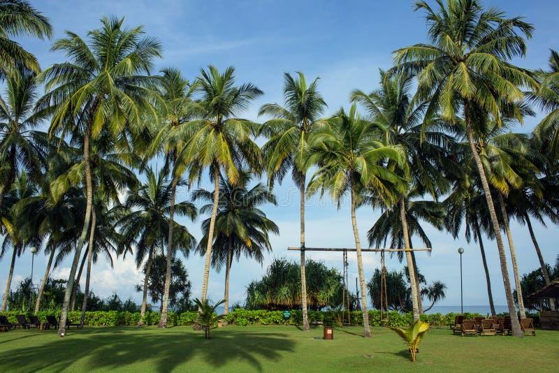 Territorio del centro turístico y del balneario de Avani Bentona del hotel fotografía de archivo libre de regalías