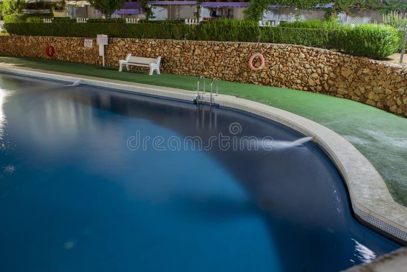 Territorio del hotel (territorio de Caletta del La del hotel, Alcossebre, España) fotos de archivo libres de regalías