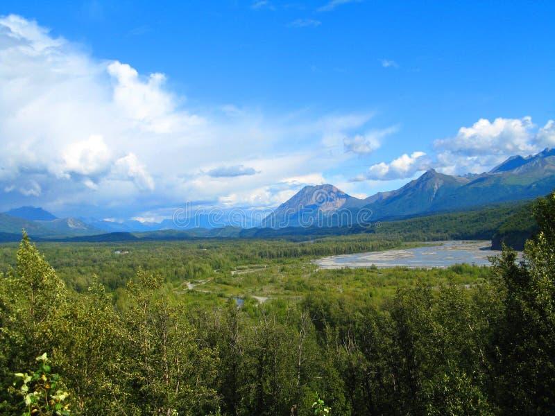 Territorio del noroeste del río Yukón, Canadá, el Yukón fotos de archivo