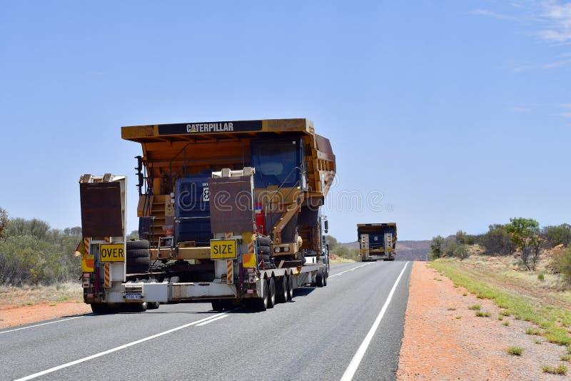 Territorio di Australia_Northern, trasporto immagini stock