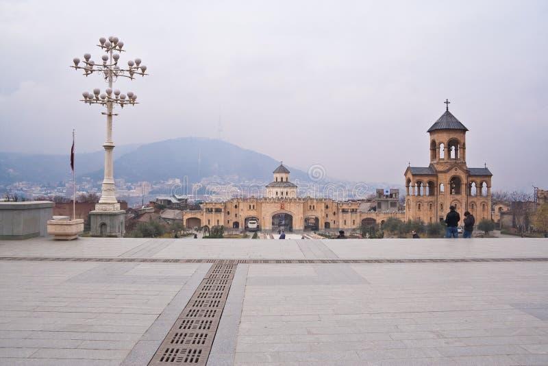 Download The Territory Of The Tsminda Sameba. Tbilisi Royalty Free Stock Photo - Image: 25159315