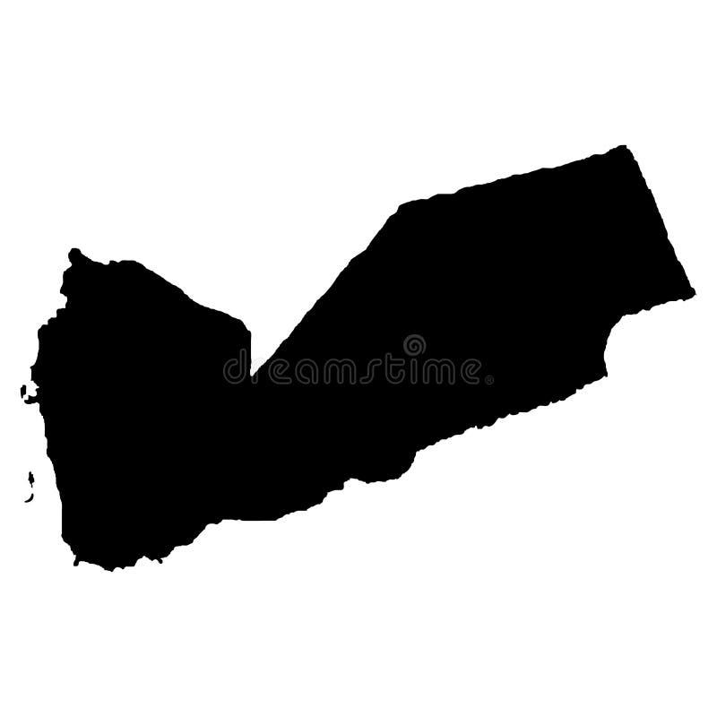 Territory of Yemen. White background. Vector illustration. Territory of Yemen. White background. Vector stock illustration