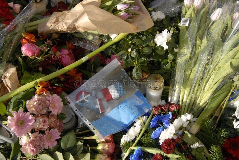 TERROR ATACADO EN PARIS_COPENHAGEN DINAMARCA imágenes de archivo libres de regalías