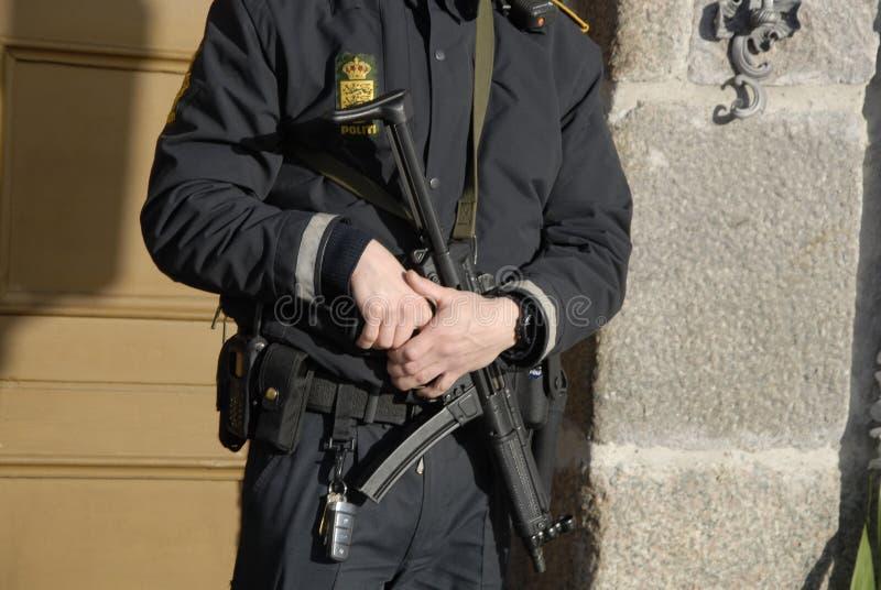 TERROR ATACADO EN PARIS_COPENHAGEN DINAMARCA foto de archivo
