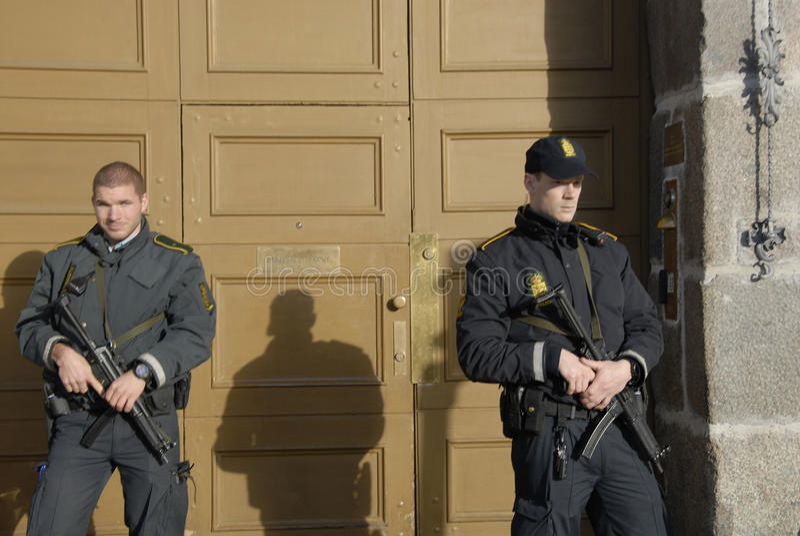 TERROR ATACADO EN PARIS_COPENHAGEN DINAMARCA imagen de archivo libre de regalías