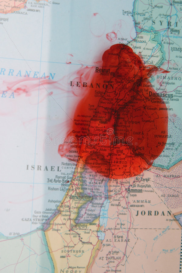 Terror I de Oriente Medio imagenes de archivo