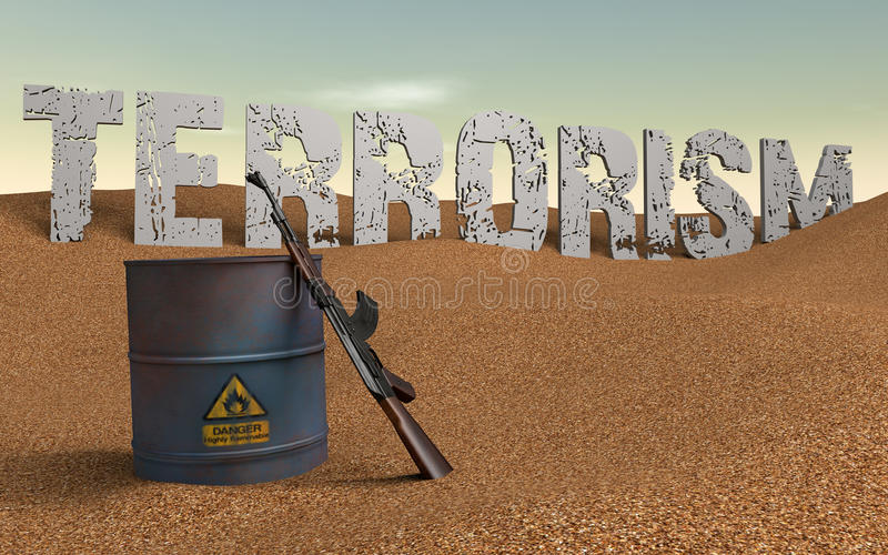 Download Terrorism stock illustration. Image of combat, details - 28686036
