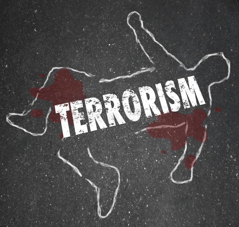 Free Terrorism Dead Body Chalk Outline Murder Killed Casualty Victim Royalty Free Stock Image - 62582686