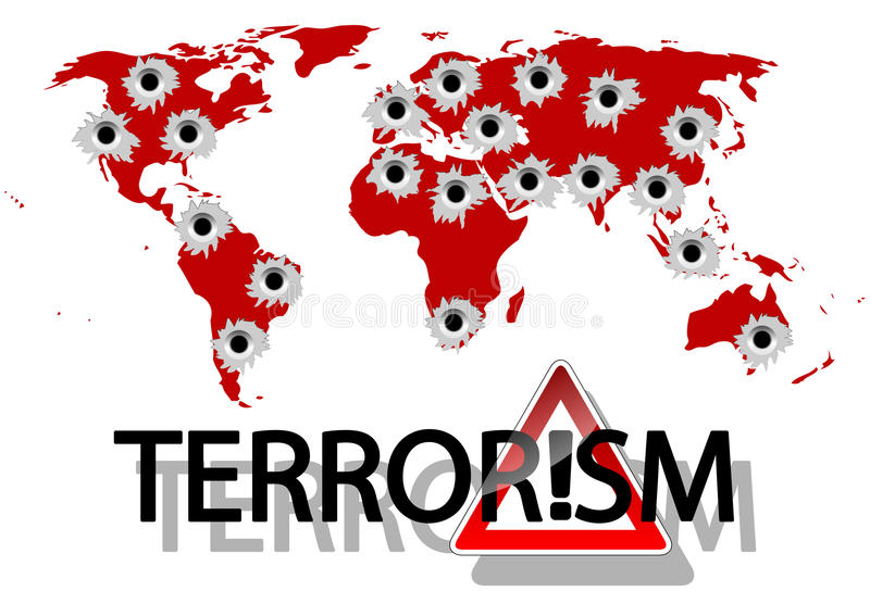 Terrorism becomes a growing international problem