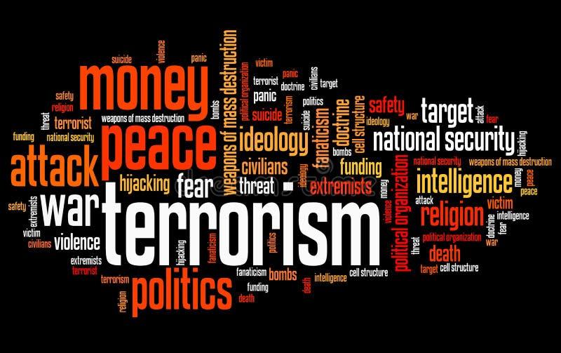 terrorisme stock illustratie