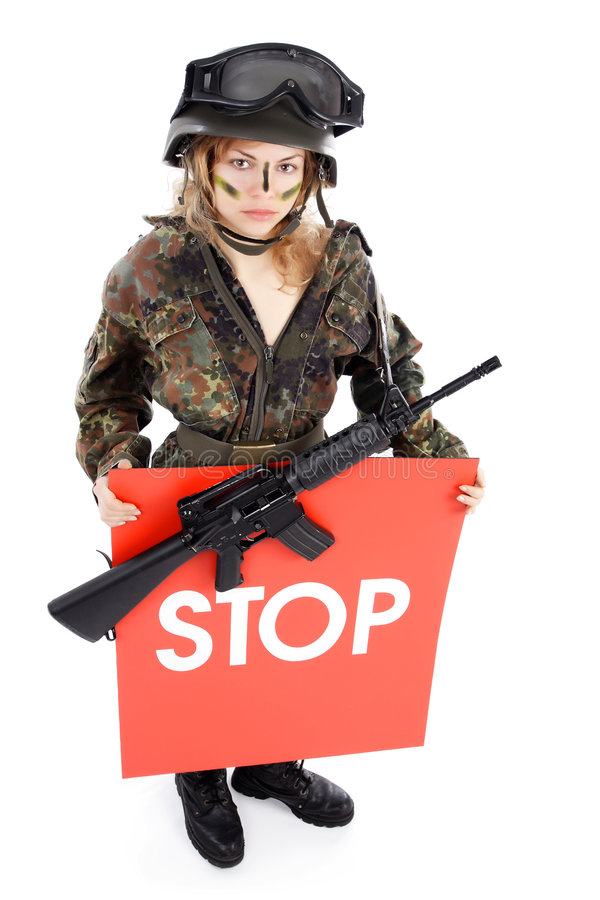 Terrorisme stock fotografie