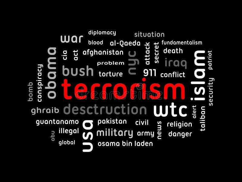 Terrorisme/EPS vector illustratie