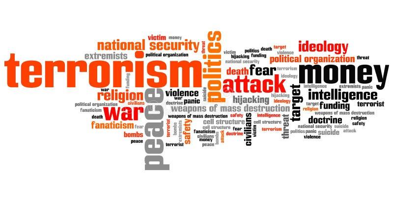 terrorismus vektor abbildung