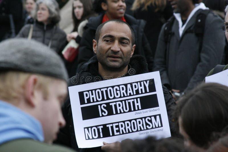 Terrorismus Section44 lizenzfreies stockfoto