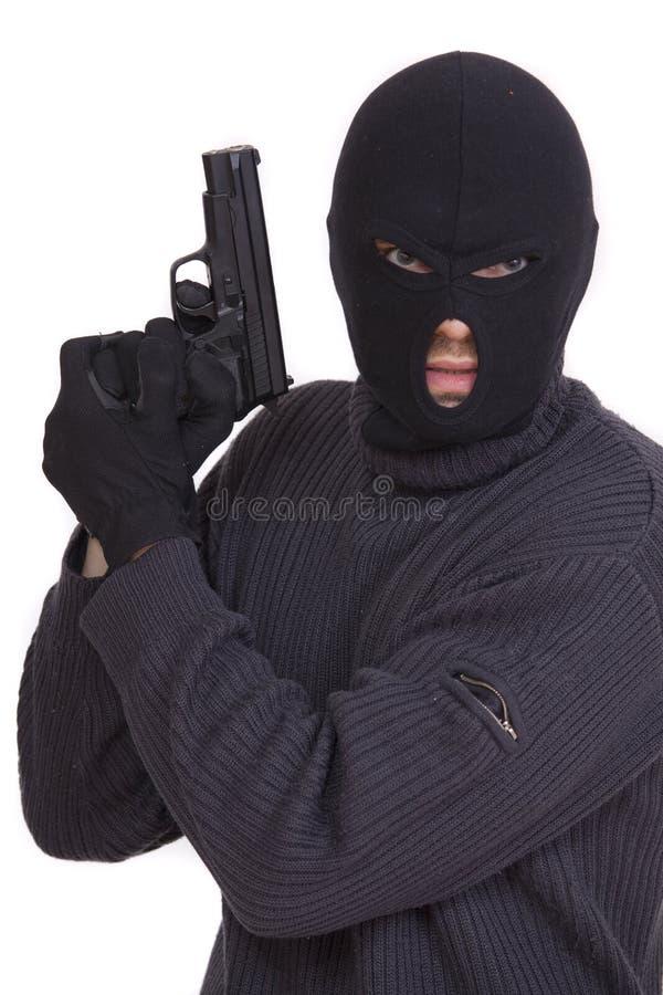 Terrorista fotografia stock libera da diritti