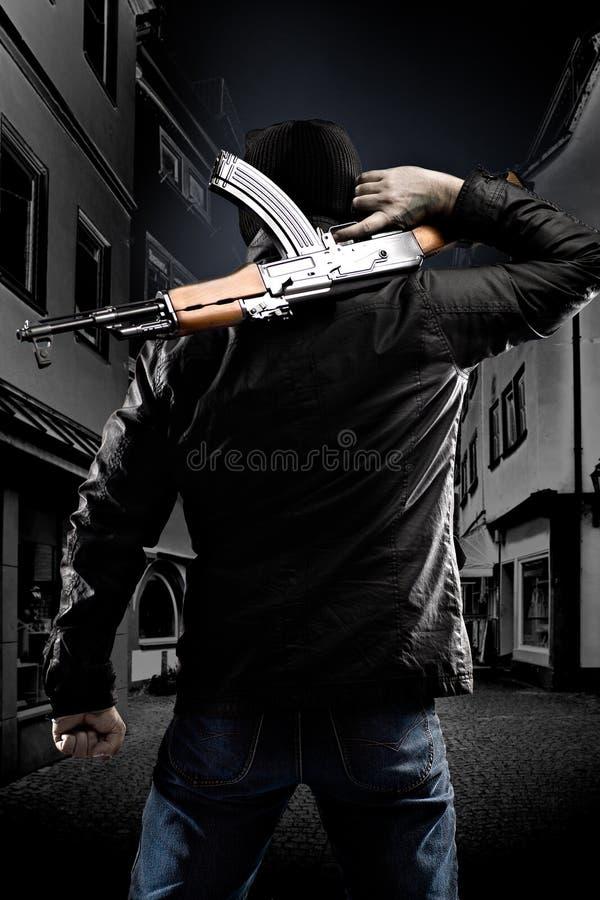Terrorista fotografia de stock