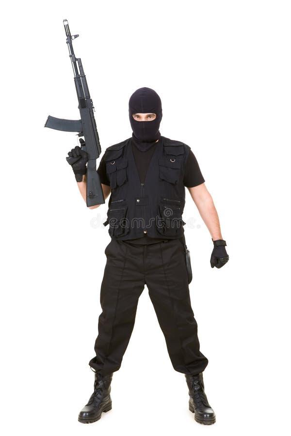 Terrorista imagem de stock