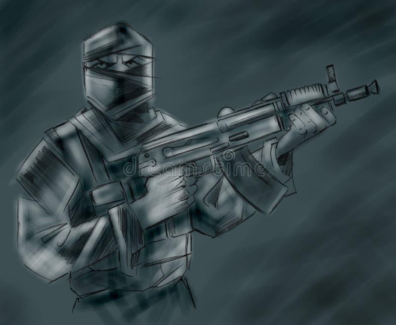 terroriste photos stock