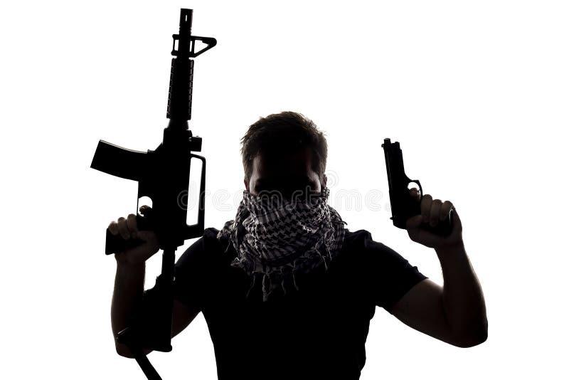 Terroriste ou soldat de Sepcial Ops photo libre de droits