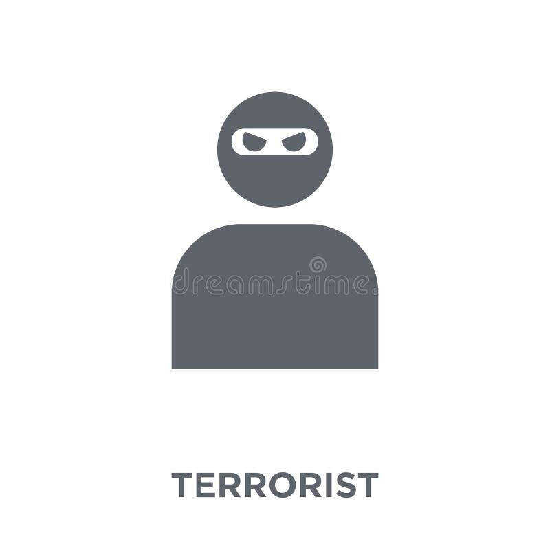 Terroristikone von der Armeesammlung vektor abbildung