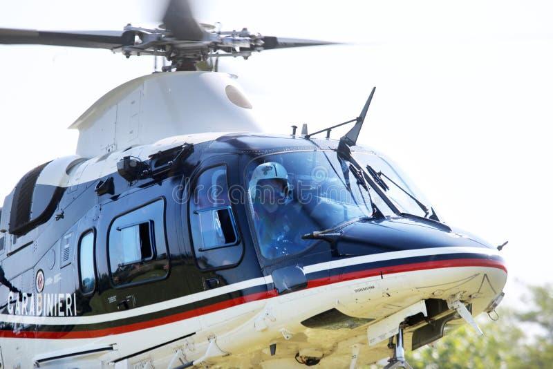 Terroryzm ochrony operacje w Włochy fotografia royalty free