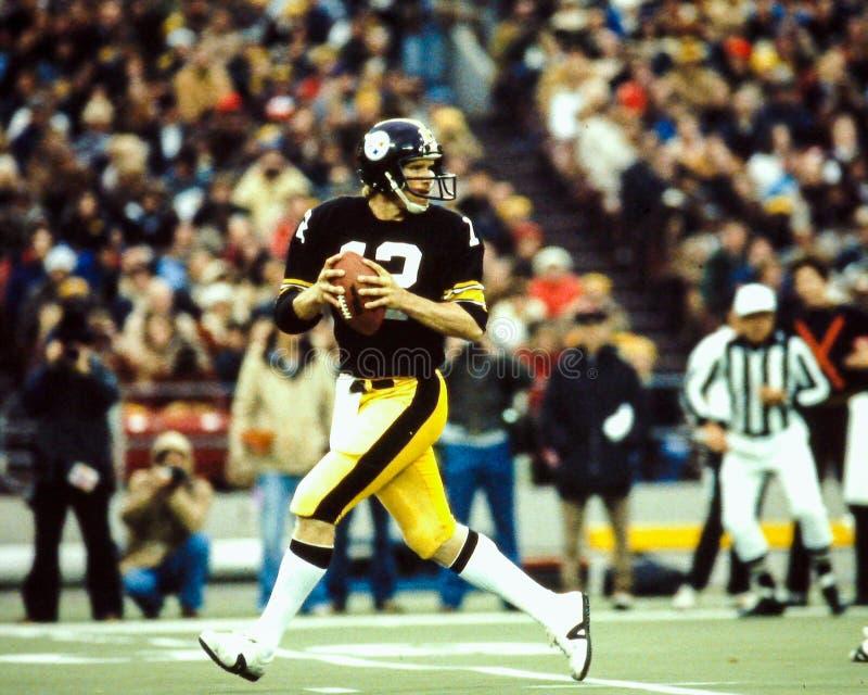 Terry Bradshaw Pittsburgh Steelers imagens de stock royalty free