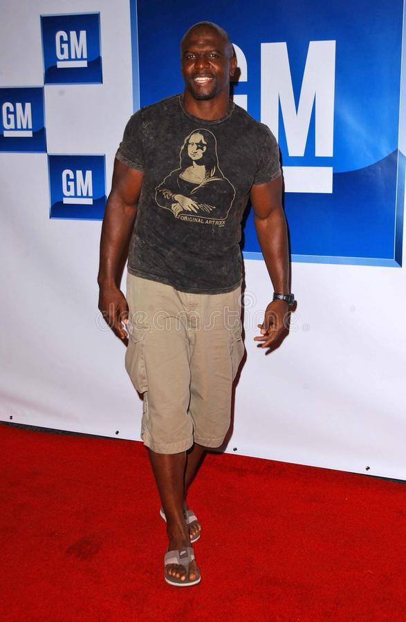 Terry Crews stockbild