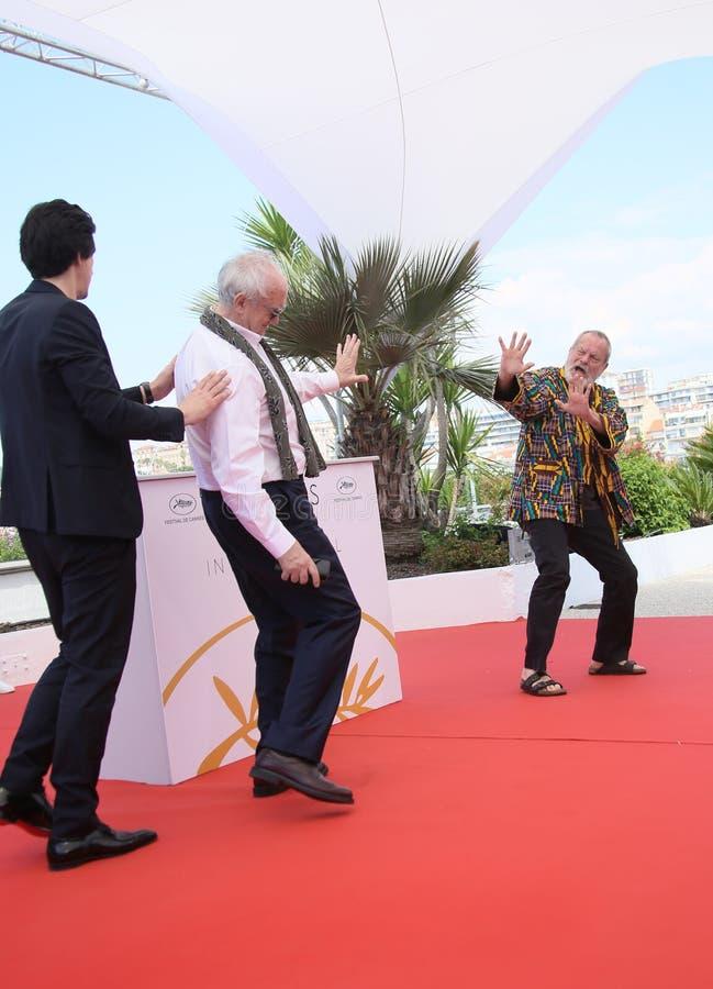 Terry Gilliam deltar i ` mannen som dödade Don Quixote `, arkivfoton