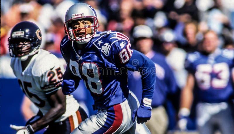Terry Glenn, New England Patriots WR stock photos