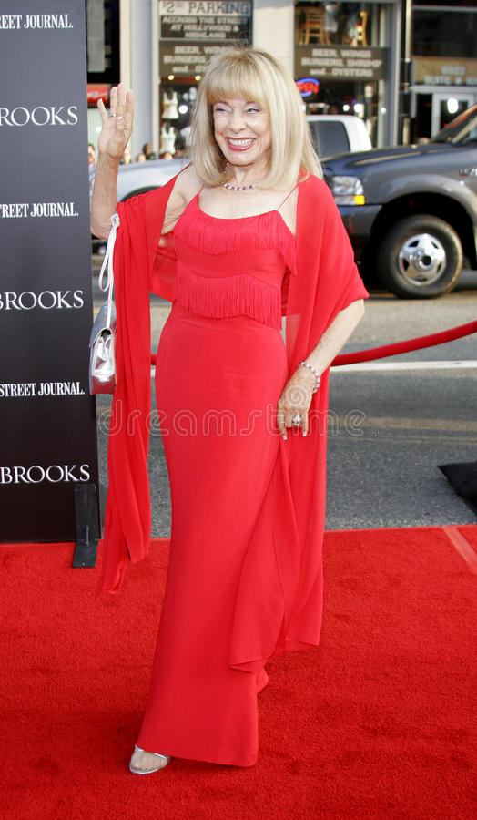 Terry Moore. HOLLYWOOD, CALIFORNIA. Tuesday May 22, 2007. Terry Moore attends the Los Angeles Premiere of `Mr. Brooks` held at the Grauman`s Chinese Theater in royalty free stock images