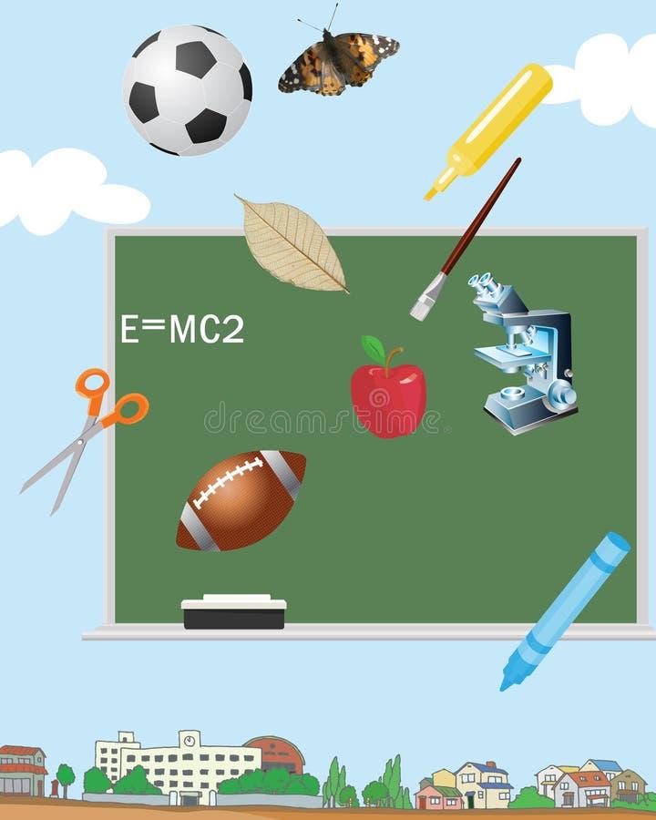 Terug naar School vector illustratie