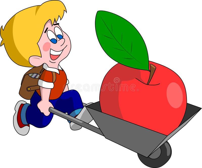 Terug naar school (vector) vector illustratie