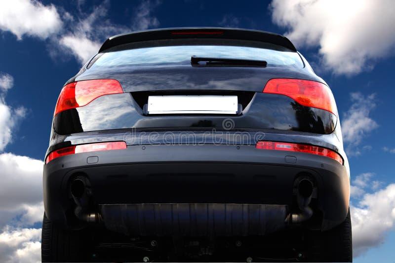 Terug van de off-road auto royalty-vrije stock afbeeldingen