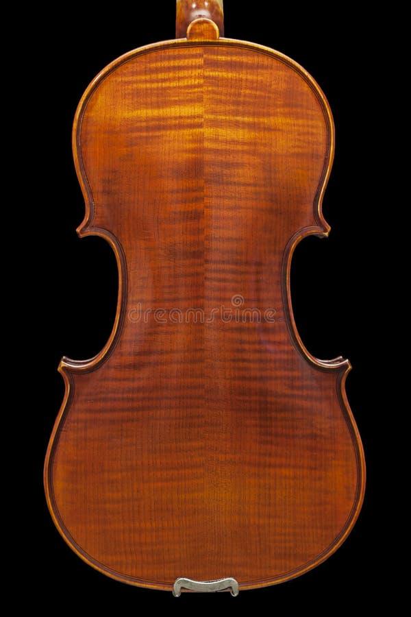 Terug van de viool stock foto's