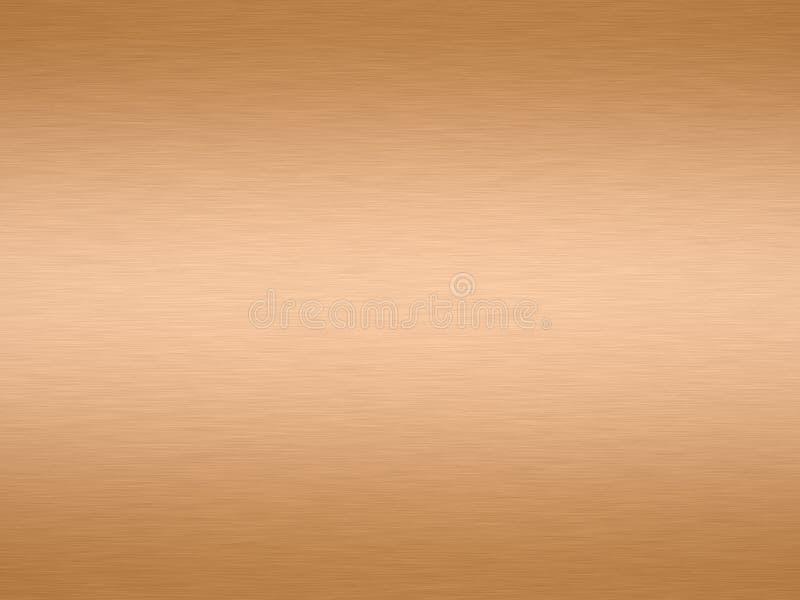 Teruggegeven koper vector illustratie