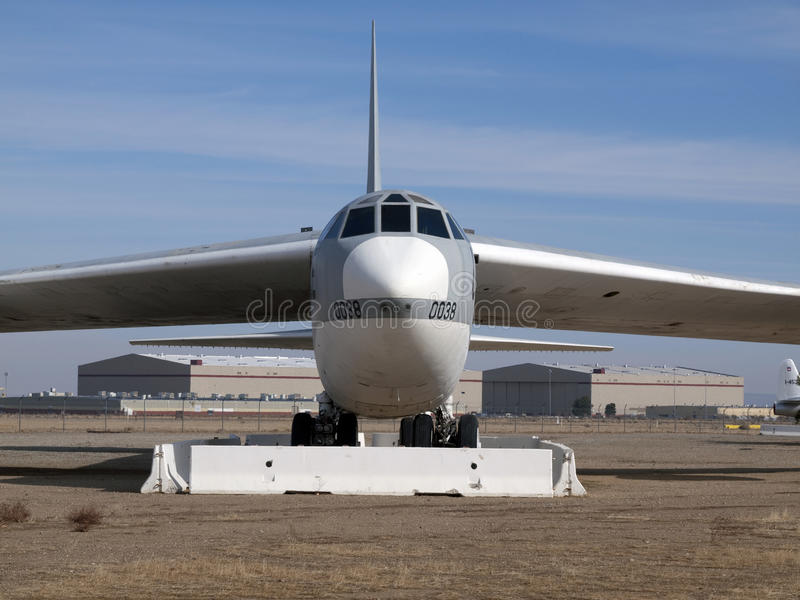 Teruggetrokken B-52 royalty-vrije stock afbeeldingen