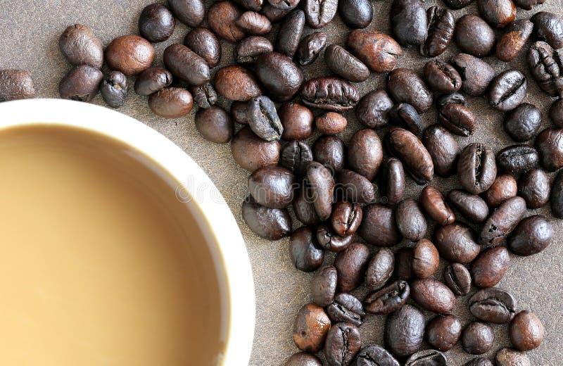 Terzo estratto della bevanda del caffè di specialità di Wave immagini stock
