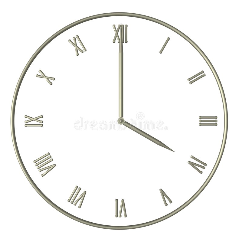 Tes time royalty free stock image