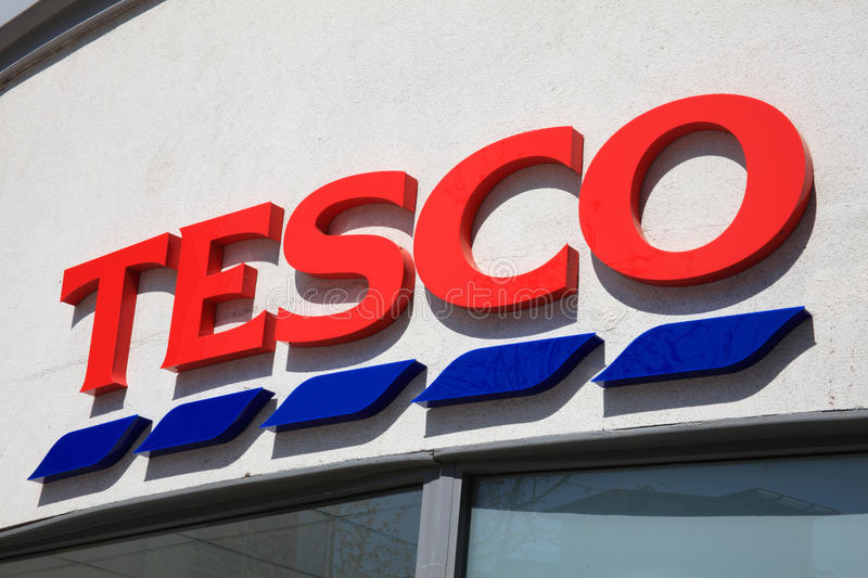 Download Tesco Sign Editorial Image - Image: 19526035