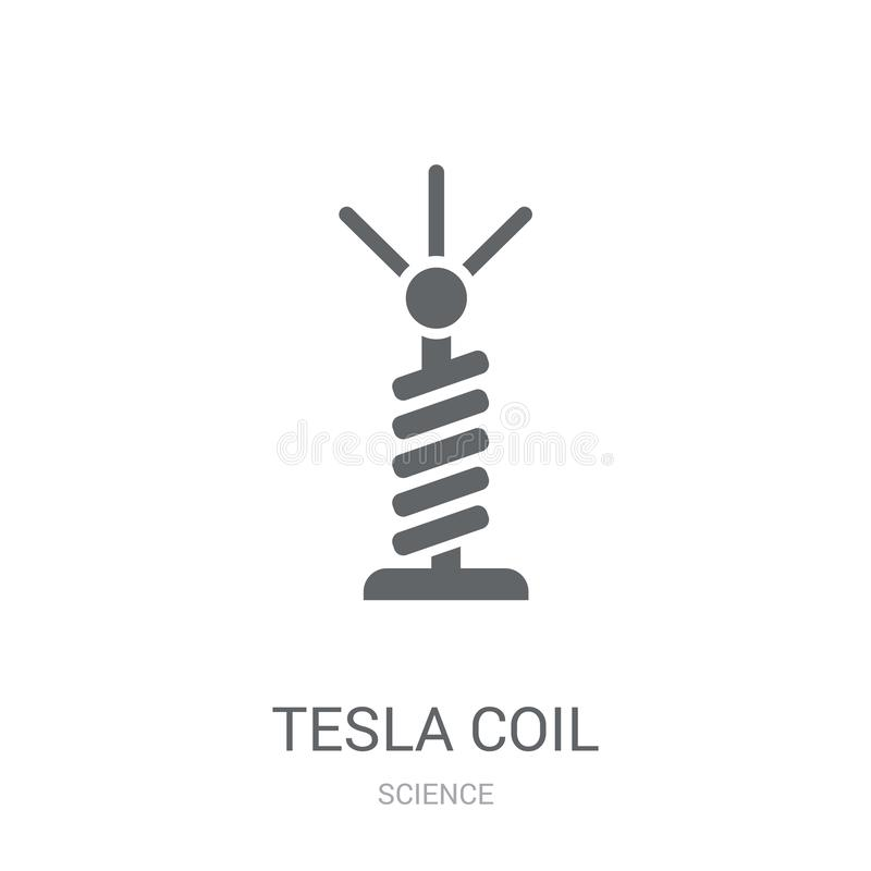 Free Tesla Coil Icon. Trendy Tesla Coil Logo Concept On White Background From Science Collection Stock Photography - 131178302