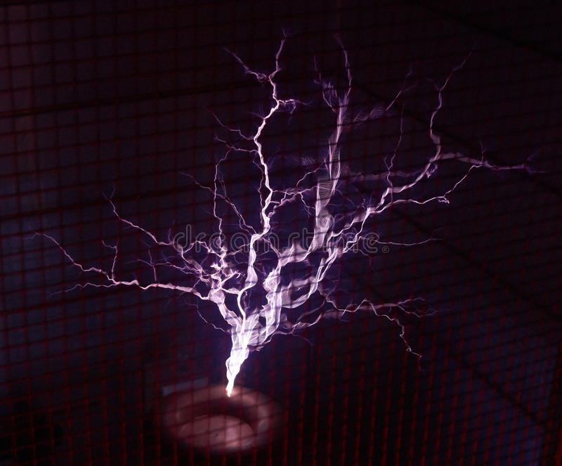 Tesla Coil stock photography