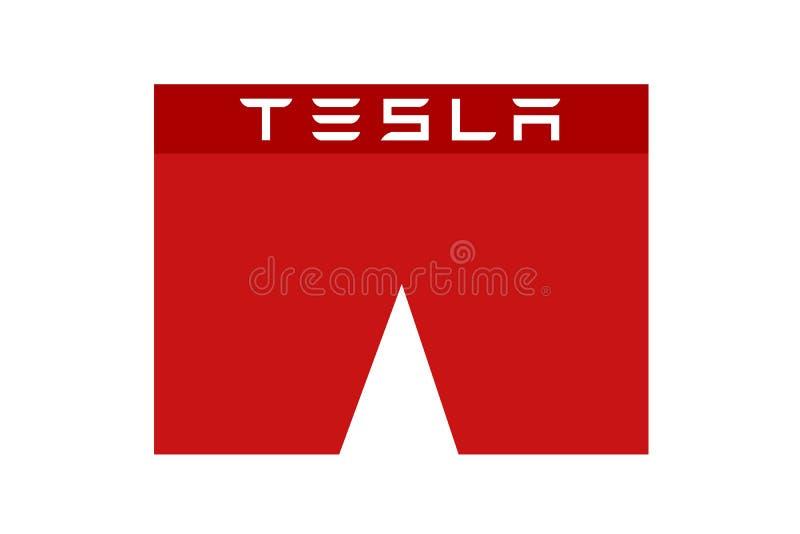 Tesla kortsluter som metaforen av kort-säljare och spekulation vektor illustrationer