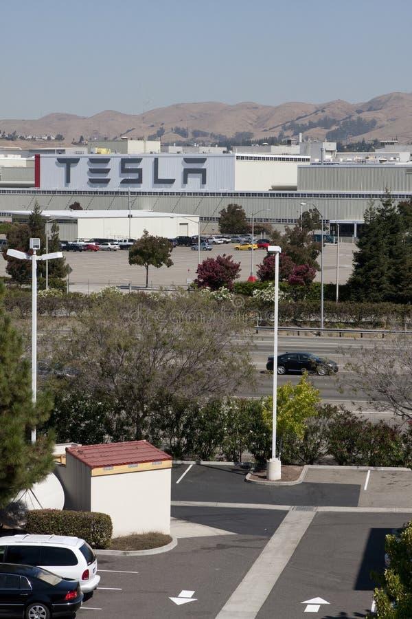 Tesla Motors factory royalty free stock photography